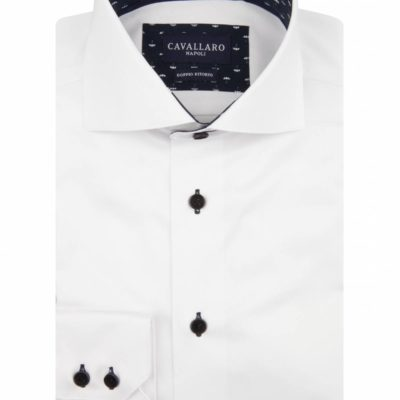cavallaro napoli bianbrello overhemd jstyle menswear