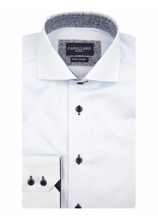 cavallaro napoli lichtblauw overhemd j style menswear yerseke