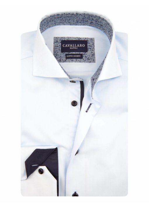 fenno cavallaro napoli lichtblauw overhemd j style menswear yerseke