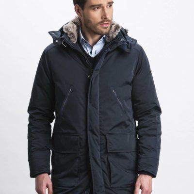 arino cavallaro napoli parka j style menswear 1275001-63000 donkerblauw