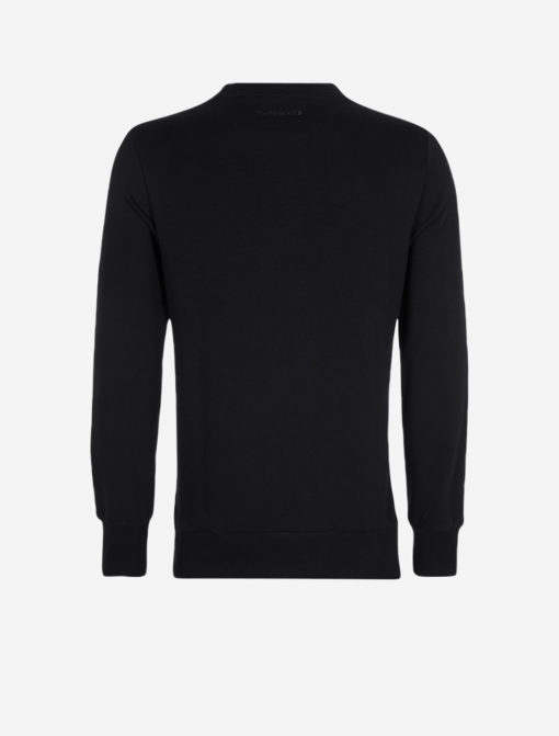 PUREWHITE GRADIENT SWEATER BLACK