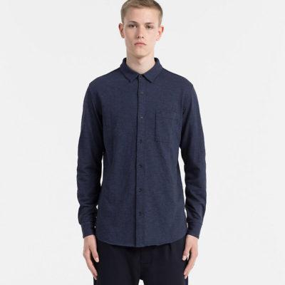overhemd calvin klein blues heather j style menswear yerseke