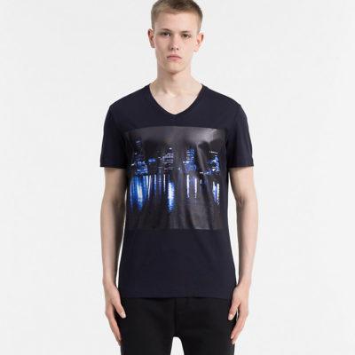 t shirt calvin klein skyline print j style menswear yerseke