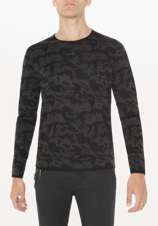 Antony morato camouflage print trui j style menswear yerseke
