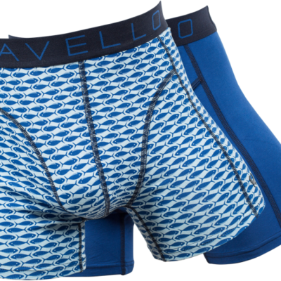 Cavello 2-pack Fish & Blue jstyle menswear
