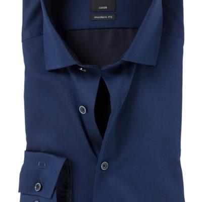 OLYMP Modern Fit overhemd, blauw (contrast) j style menswear
