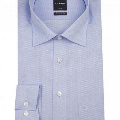 olymp modernfit lichtblauw overhemd j style menswear