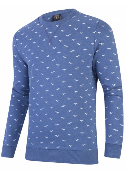 Cavallaro Napoli Gabbiani Sweater Blauw