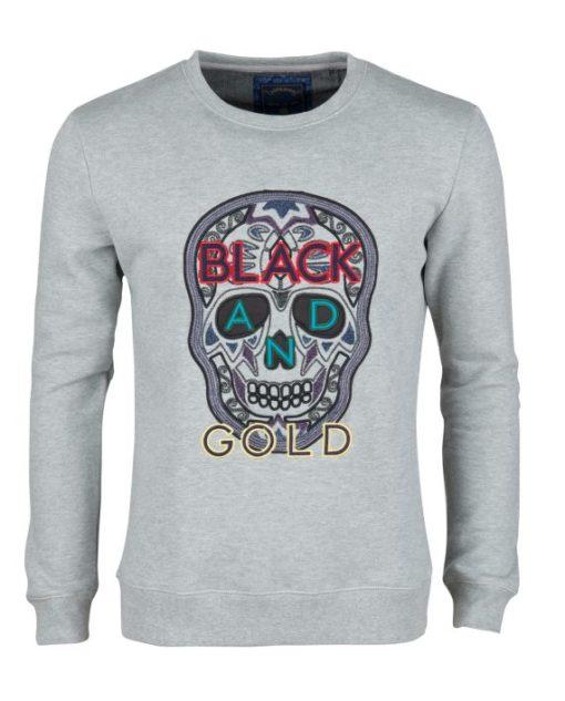 Black & Gold Craneo grey/color