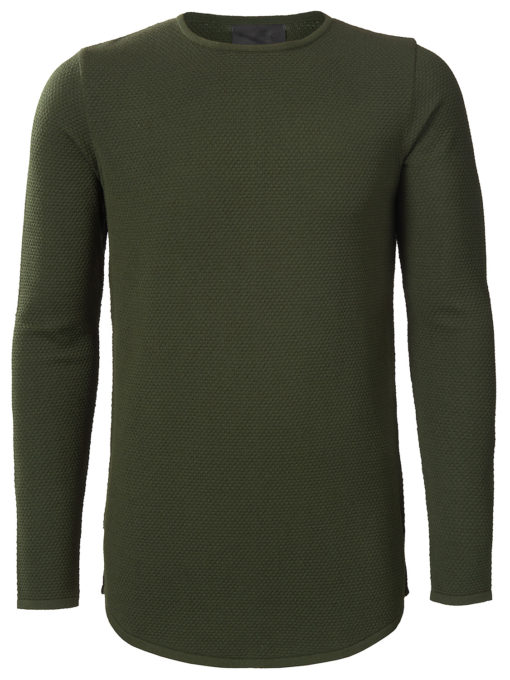 Zumo pullover fancy knit Dark Army Felices