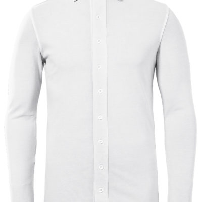 Zumo Polo T-shirt LS White Thomas