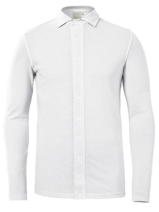 Zumo Polo T-shirt LS White Thomas