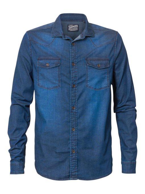 Petrol Industries Overhemd Denim Classic