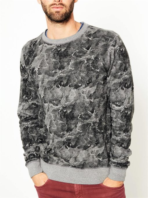 Petrol Industries Sweater Golven Print