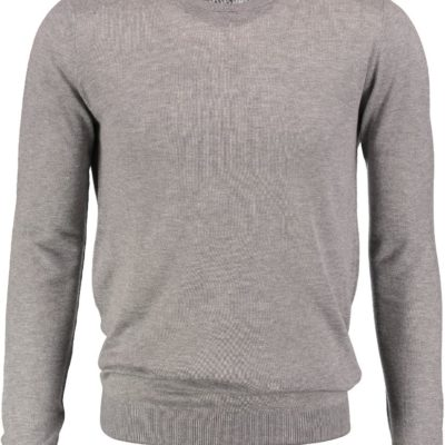 Antony Morato basic trui medium melange grey
