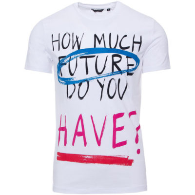 Antony Morato slim fit T-shirt met multi-colored text print