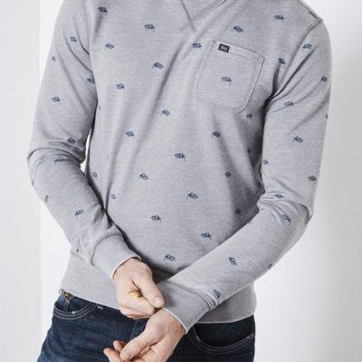 Petrol Industries sweater bankschroef iron
