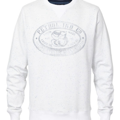Petrol Industries sweater Antique White