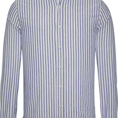 Calvin Klein slimfit Overhemd Classic Stripe Blue