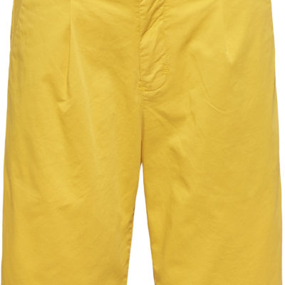 CALVIN KLEIN JEANS Stretch twill chino korte broek spectra yellow