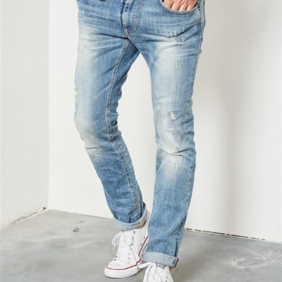 Petrol industries JEANS SILVERMINE SLIM Light Vintage
