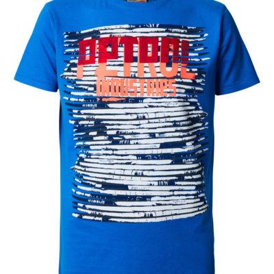 Petrol Industries t-shirt electric blue