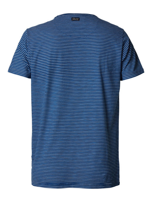 Petrol Industries t-shirt ronde hals petrol punch royal blue
