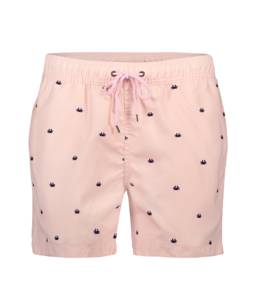 Kultivate SWIMSHORT CRAB FISH miami pink