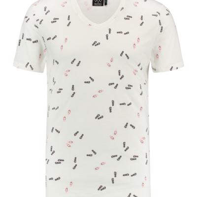 Kultivate T-shirt FLIP FLOP ecru