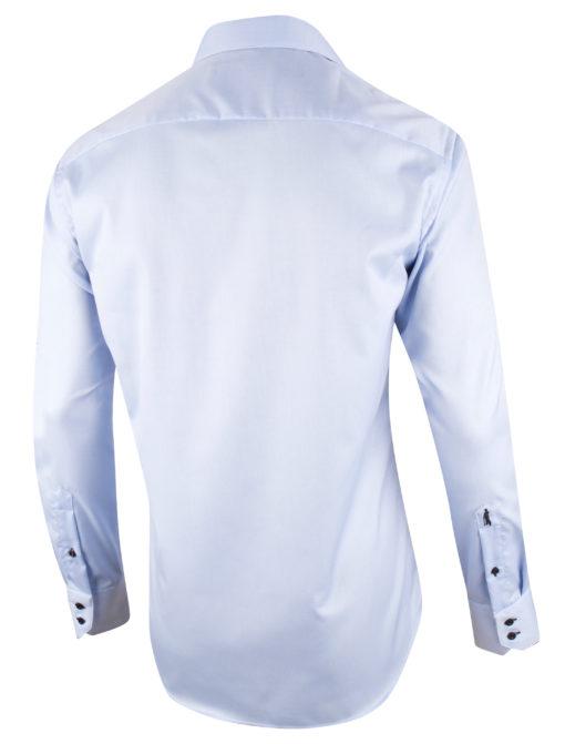 Cavallaro Napoli Caio Overhemd Lichtblauw