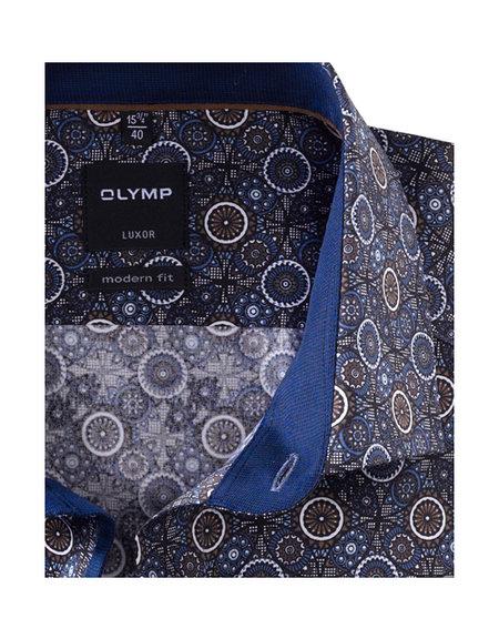 OLYMP Luxor, modern fit, Global Kent, Bruin