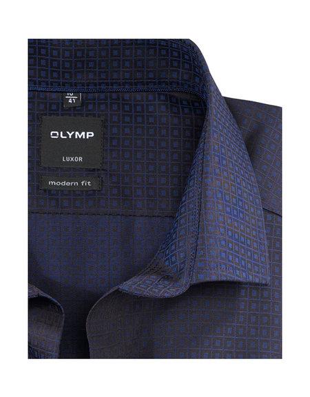 OLYMP Luxor, modern fit, Global Kent, Marineblauw