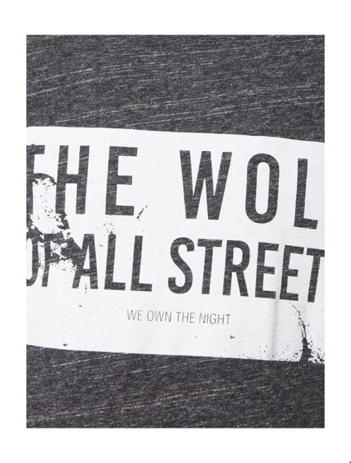PUREWHITE 'Wolf Of All Streets' T-shirt zwart