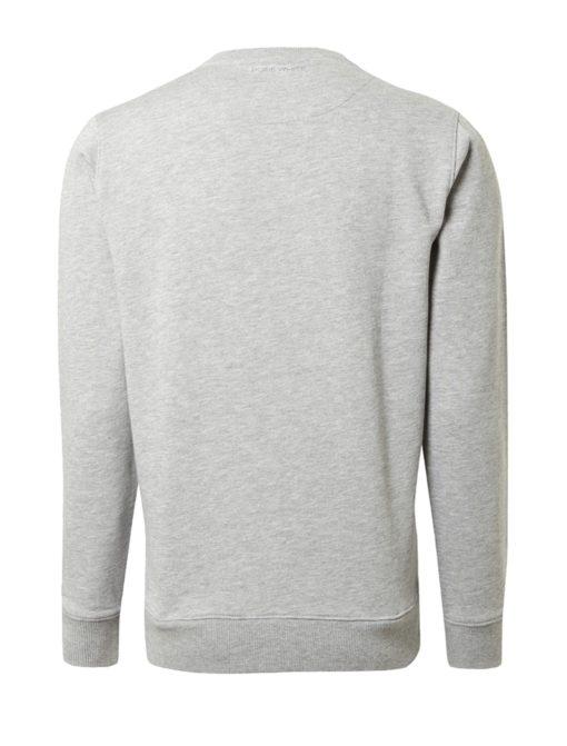 PUREWHITE Graphic Sweater grijs