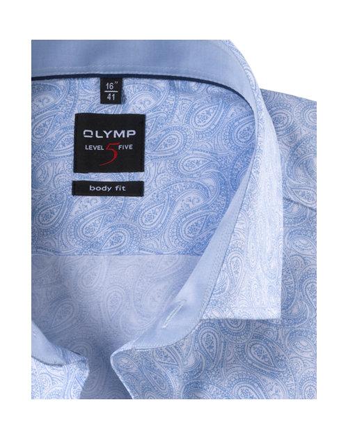 OLYMP Level Five, body fit, Royal Kent, Bleu