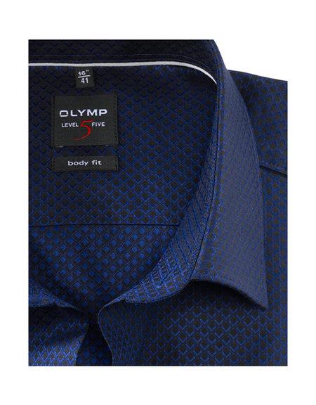 OLYMP Level Five, body fit, New York Kent, Marineblauw