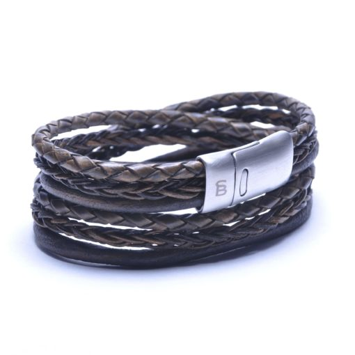 Self Made Bracelets Bonacci dark brown
