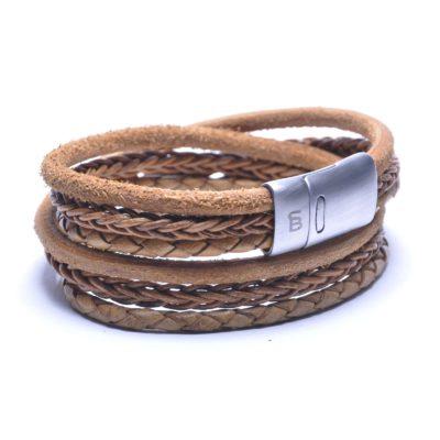 Self Made Bracelets Bonacci camel