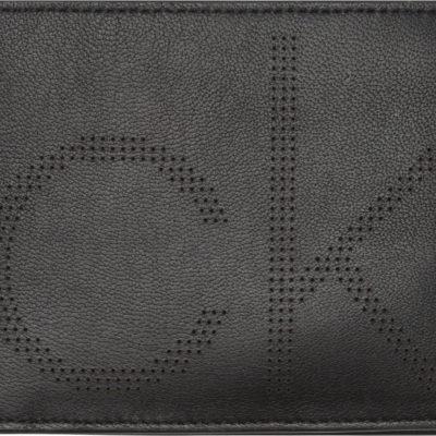 Calvin Klein leren portomonnee zwart