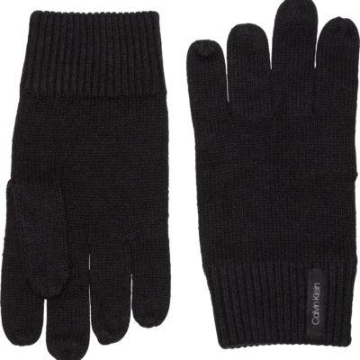 calvin klein basic gloves zwart