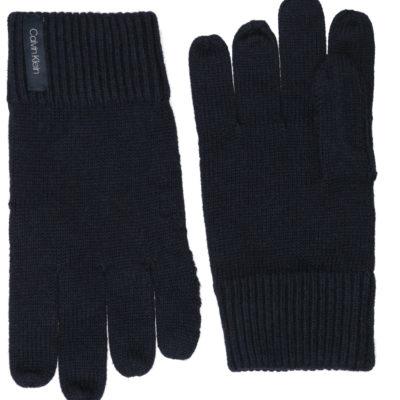 calvin klein basic gloves blauw