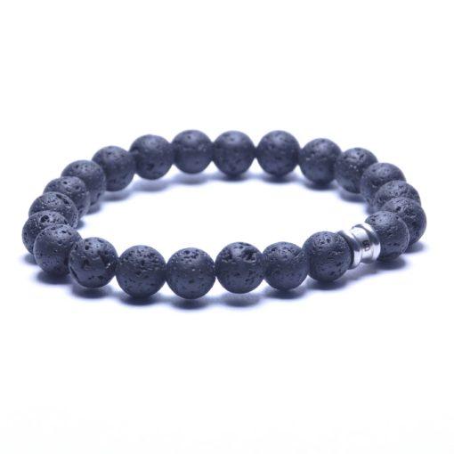 Self Made Bracelets Basic Silver / Lava
