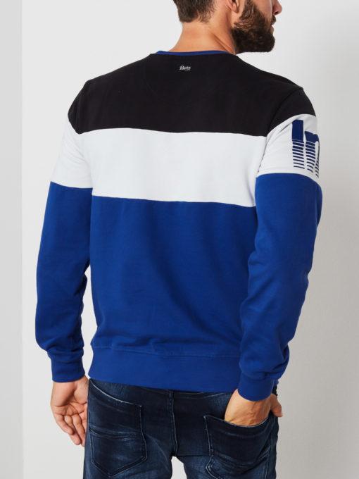Petrol Industries Sweater Racing blauw