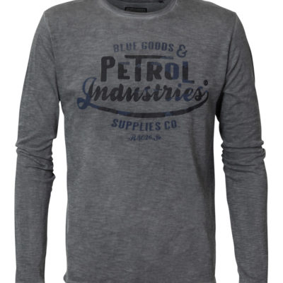 Petrol Industries T-shirt Vintage look Lange Mouwen steal