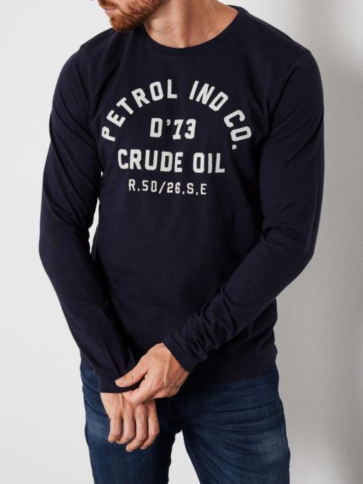 Petrol Industries Shirt Petrol IND CO. deep navy