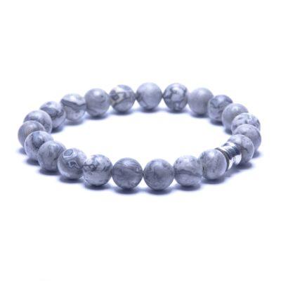 Self Made Bracelets Basic Silver / Smokey