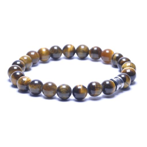 Self Made Bracelets Basic Silver / Tiger