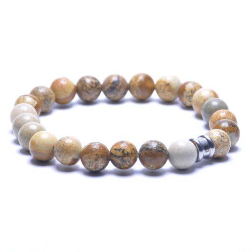 Self Made Bracelets Basic Silver / Wood