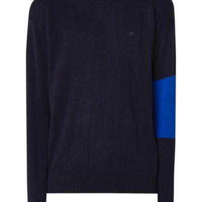 Calvin Klein Colorblock Trui blauw