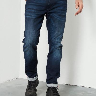 Petrol Industies Seaham Slim Coated Jeans blauw
